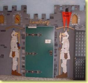 Eingang in die Leseburg